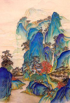 Illustration Photo, Japanese Artwork, Pretty Art, Chinese Art, Aesthetic Art, Asian Art, Oeuvre D'art, Art Inspo, Fantasy Art