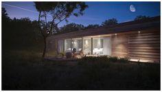 LOW ENERGY HOUSE by Jozef Petrzel, via Behance