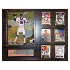 C & I Collectables NFL 16 x 20 in. Peyton Manning Denver Broncos Player Plaque - 1620PMANNDEN