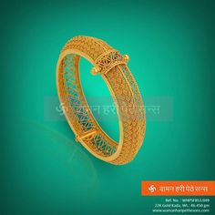 We aim to make jewellery beautiful. Checkout the new Gold Kada from our gleaming collection. #Indianjewellery #jewellerylove #indian #traditionaljewellery #wedding #indianwedding #goldjewellery #ethnic #stylestatement