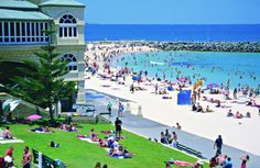 Australia Travel Deals: Qantas Vacations are experts at arranging customized travel to Australia, New Zealand and the South Pacific. Save on Australian travel deals with customized tours and vacation packages. Australia Tours, Perth Western Australia, Australia Day, Australia Travel, Melbourne, Sydney, Perth Airport, Cottesloe Beach, Kings Park