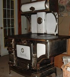 Image detail for -the project. I scored this beautiful, antique wood burning cook stove .