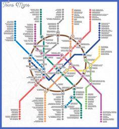 Baghdad Metro Map - http://toursmaps.com/baghdad-metro-map.html