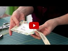 Cindy & Jina demonstrate how to make simple fabric tags using your scrap fabrics.