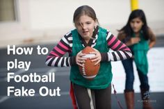 Do your students love football? Football Fake Out teaches kids football skills and while giving more kids the option to hold the ball during recess.