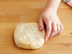 Wrap and Refrigerate : Form the dough into a disk, wrap in plastic wrap, and refrigerate until thoroughly chilled, at least 1 hour.