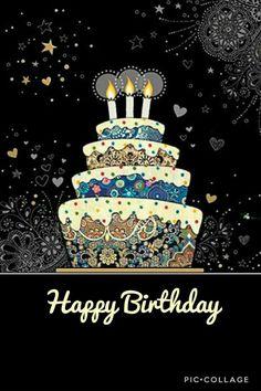 Happy Birthday Wishes Messages - Bday Status with Bday Images Happy Birthday Wishes Messages, Happy Birthday Cake Images, Birthday Blessings, Happy Birthday Quotes, Happy Birthday Greetings, Birthday Love, Friend Birthday, Happy Quotes, Happy Birthday Status