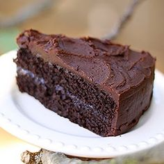 Gluten Free Chocolate Cake! Make it Gluten Free and visit www.absolutelygf.com for more! #desserts #recipes #glutenfree