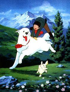 Belle & Sebastian (the cartoon)!  I wanted to be Belle's best friend :-)