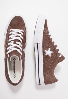 3558f8824d Converse ONE STAR - Trainers - chocolate white - Zalando.co.uk
