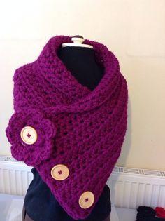 Super chunky wrap/scarf - The Supermums Craft Fair