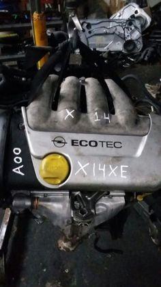 Motor Opel Corsa 2000. Ref. X14XE. Enviamos para todo país. Transportadora / Correio.