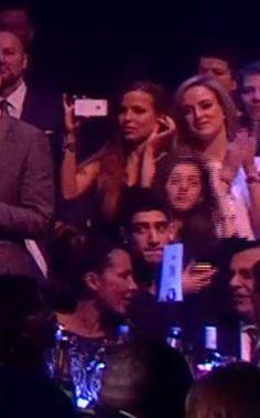 Sophia, Eleanor at the Brits...Isn't that Zayn's cousin Javaad too?