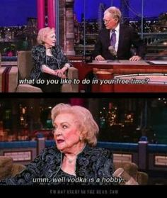 Betty White (born January 17, 1922) turns 95 this year, which makes her -- without a doubt -- the wisest, funniest woman on the planet.