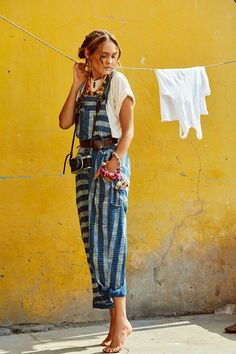 hippie outfits 785174516272053347 - Boho fashion overall, bohemian style jumpsuit Source by mookyboutique Style Outfits, Mode Outfits, Summer Outfits, Fashion Outfits, Fashion Tips, Cute Hippie Outfits, Fashion Ideas, Gypsy Outfits, Fashion Pants