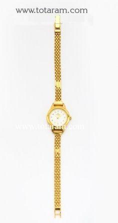 22k Gold Watch An Womens 235 Gw030