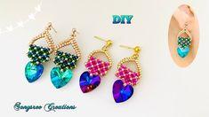 Beaded Earrings, Beaded Jewelry, Handmade Jewelry, Jewelry Making Tutorials, Beading Tutorials, Simple Rules, Beads, Jewels, Accessories