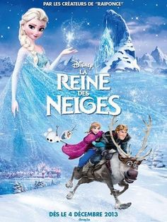 La Reine des Neiges - Frozen, French version.