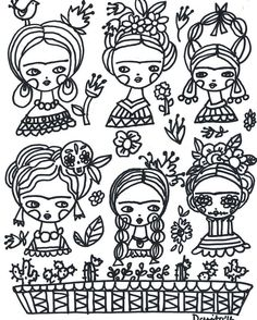https://flic.kr/p/Lf6DKQ | Color with #Frida and me! I have a free page for you…