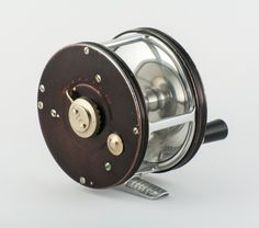 """Hardy Cascapedia 4/0 Salmon Fly Reel - 1930's Original- a reel I would love to see as a replica by Hardy in size 3 1/2"""" for seatrout light salmon"""