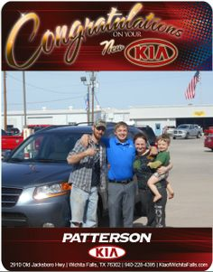 Congratulations Josh and Stephanie Warton on your New 2009 Santa Fe LIMITED! Always feels great to help family!  - From Brandon Warton at Patterson Kia