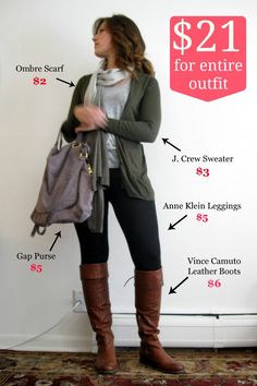 thrift store outfit breakdown, this is why I love thrifting! Yup kinda stupid to pay over 100 at any other place for the same crap.