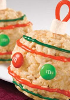 RICE KRISPIES Ornaments