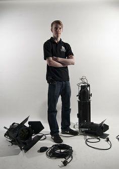 Techincal thearte crew member portrait