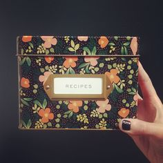 """3,927 Likes, 134 Comments - Anna Bond (@annariflebond) on Instagram: """"new tin recipe boxes arriving this Spring! #NYIGF"""""""