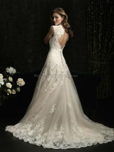 Allure Bridals 8965 - Wedding Gown Style 8965