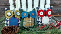 Primitive Pillows, Bowl Fillers, Christmas Ornaments, Create, Holiday Decor, Home Decor, Decoration Home, Room Decor, Christmas Jewelry