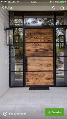 Ideas House Front Entrance Ideas The Doors Main Door Design, Front Door Design, Modern Front Door, Modern Entrance, House Entrance, Entrance Doors, Entrance Ideas, Entrance Lighting, Door Ideas