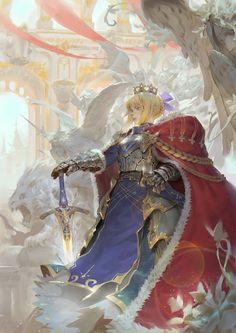 Fate Stay Night, Manga Anime, Anime Art, Character Art, Character Design, Arturia Pendragon, Fate Servants, Fate Anime Series, Fantasy Armor