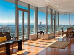 High rise loft with big windows, my dream!   Luxury high rise ...