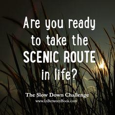 Jeff Goins: Slow Down Challenge