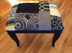 My own work...patchwork stool
