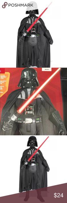 Age 3-4 Star Wars Official Red Dark Side Kids T-Shirt