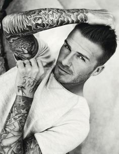 David Bekham's Tattoo Design and Meaning: David Beckham Tattoo Design ~ Celebrity Tattoos Inspiration