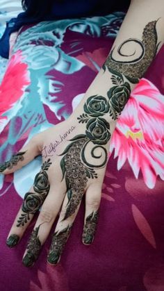 Modern Henna Designs, Floral Henna Designs, Latest Henna Designs, Finger Henna Designs, Back Hand Mehndi Designs, Mehndi Designs Book, Mehndi Design Pictures, Mehndi Designs For Beginners, Mehndi Designs For Fingers