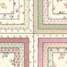 """Amazon.com: Primitive Gatherings FLORAL GATHERING SHIRTINGS Charm Pack 5"""" Fabric Quilting Squares Moda 1101PP: Arts, Crafts & Sewing"""