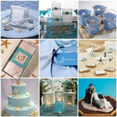 Beach Wedding Ideas http://www.weddingcolorthemes.com/beach-wedding-themes-ideas-decorations/