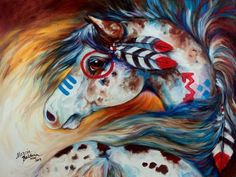 indian horse art - Google Search