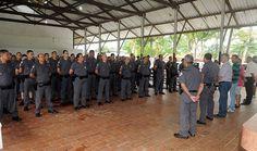Reforço policial de 326 homens começa a chegar Durante 55 dias, o policiamento será reforçado por 210 policiais militares, 80 homens do GBMAR; 12 bombeiros do Grupamento de Incêndio (GI); 12 policiais da Civil e 12 rodoviários