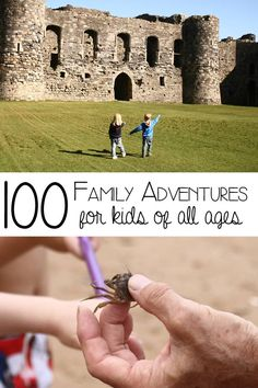 100 Screen Free Family Adventures to step outside the house and connect with your kids year around.