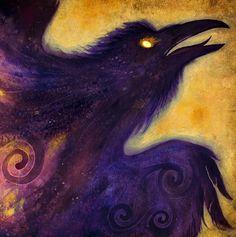 Le feu dans le ventre Bonjour Corbeau Corbeau déesse par SigiDawn