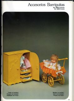 Mis Muñecas: Catálogos Barriguitas - Los accesorios