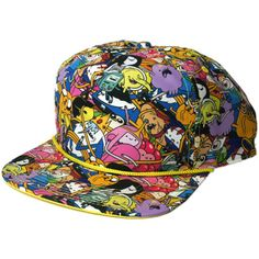 Adventure Time - Allover Snapback Hat : Forbidden Planet