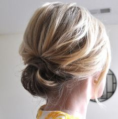 If you have medium length hair and want to try an updo stop searching. Here are top 45 updo hairstyles for medium length hair trending in Short Bob Updo, Short Thin Hair, Girl Short Hair, Short Hair Updo Easy, Short Ponytail, Easy Hair, Short Hair Updos Tutorial, Chignon Updo Short Hair, Bob Hair Updo