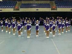 Shasta High Cheerleader UCA Cheer Camp 2010
