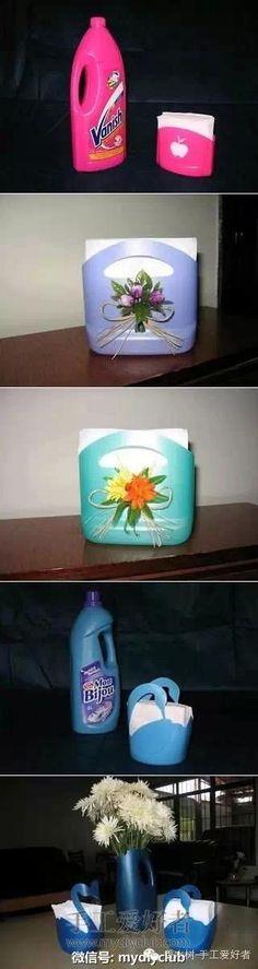 塑料瓶創意改造再次來襲,只有想不到沒有做不到